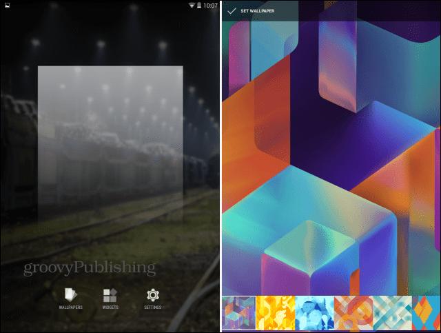 Google Now Launcher wallpapers