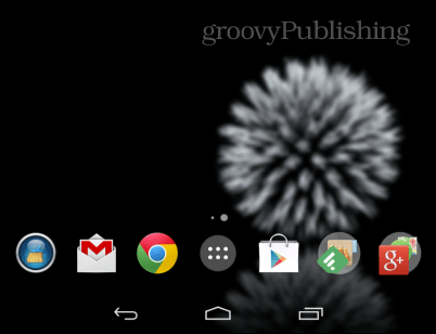 Google Now  launcher icons