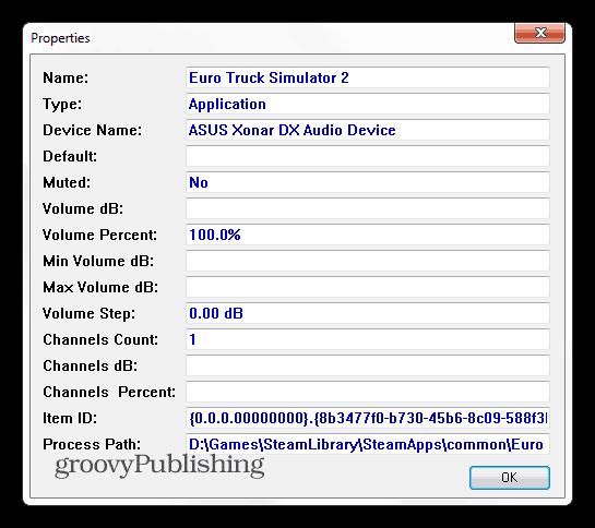 SoundVolumeView properties