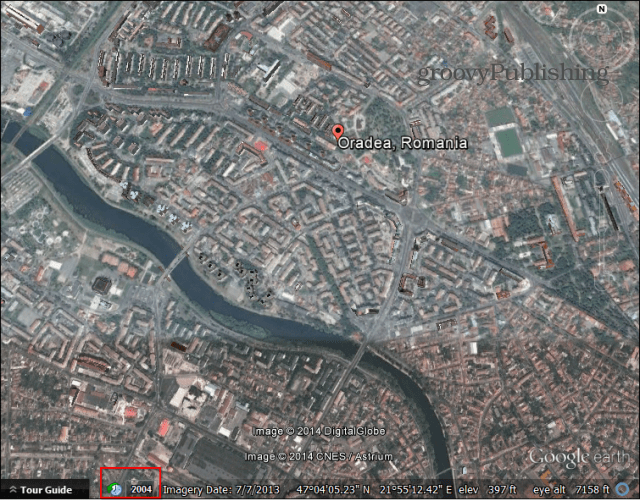 google earth historic imagery