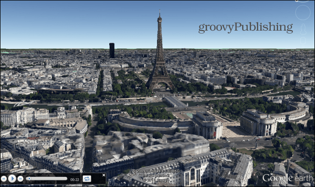 google earth sightseeing on