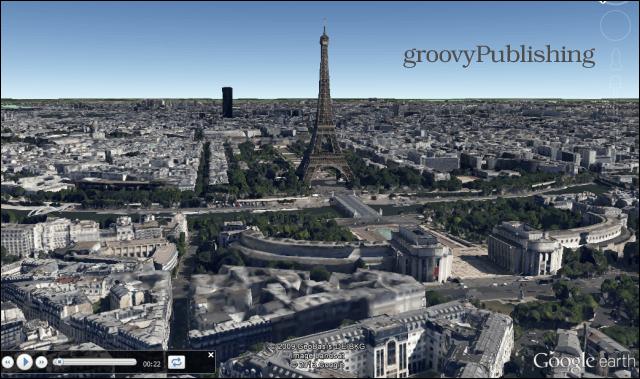 google earth sightseeing on