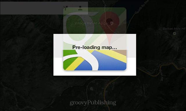 loading map