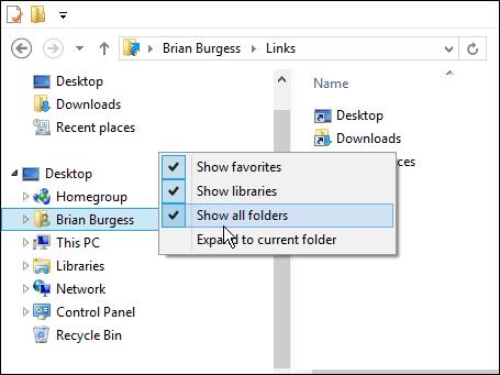 show all folder