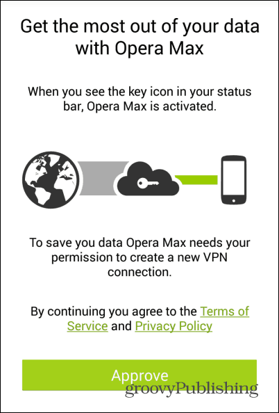OperaMAX permission