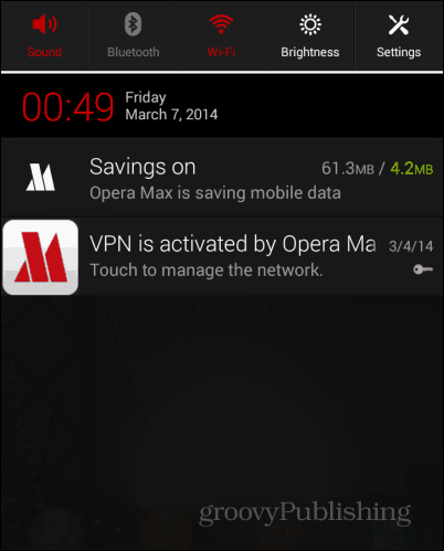 OperaMAX working