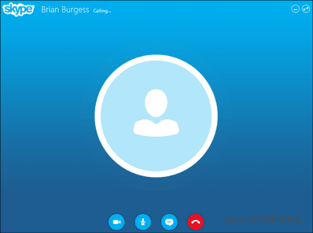 Skype HD Outlook installed plugin chat on window