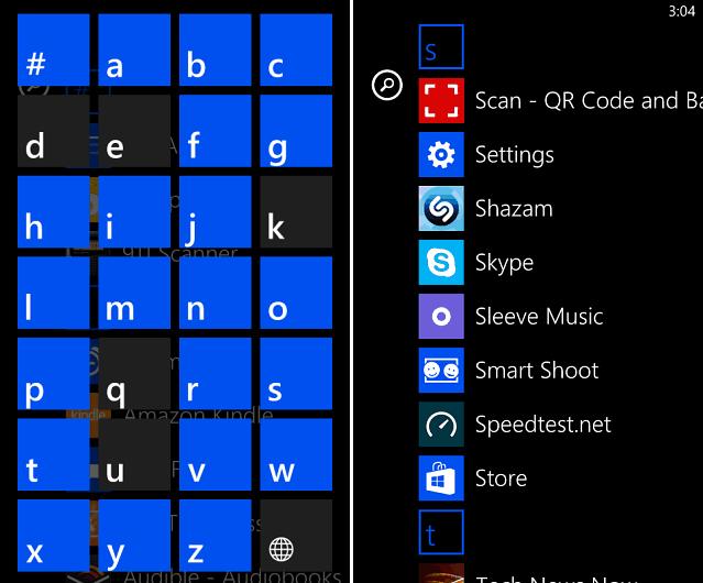 Apps Windows Phone 8