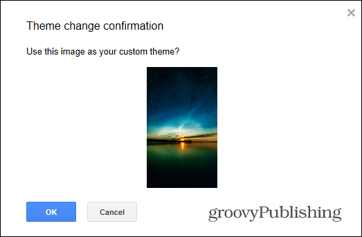 Gmail Custom Themes share your theme link received