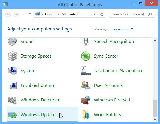 Update from Desktop