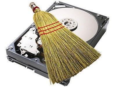 clean-hard-drive