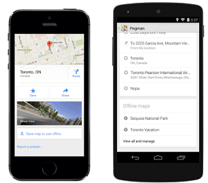 Google Maps Update Makes Saving Maps for Offline Use Easier on advertising maps, facebook maps, service maps, online interactive maps, print maps,