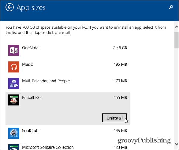 App Sizes