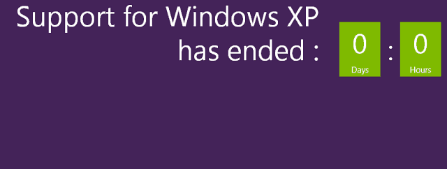 Microsoft Ends XP Support
