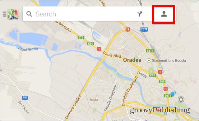 Google Maps profile
