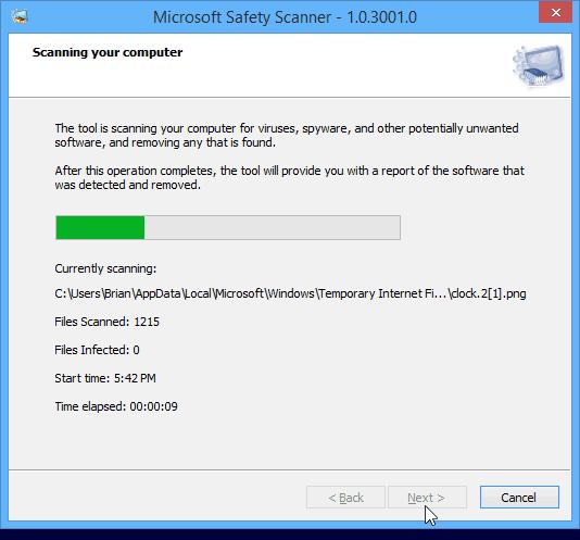 скачать программу Microsoft Safety Scanner - фото 11