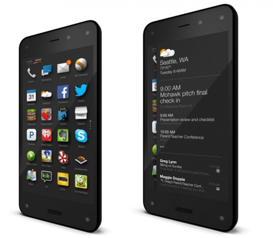 Fire Phone Side View