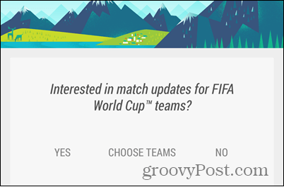 Google Now World Cup 2014