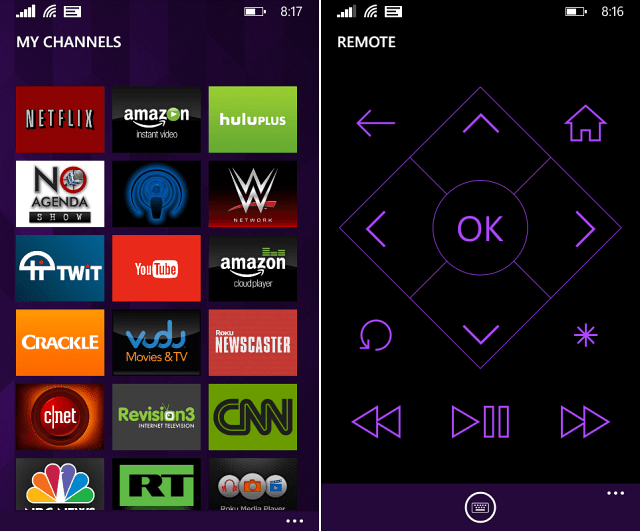 Roku App Windows Phone