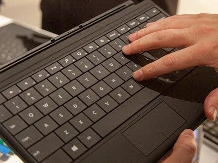 Surface-type-keyboard
