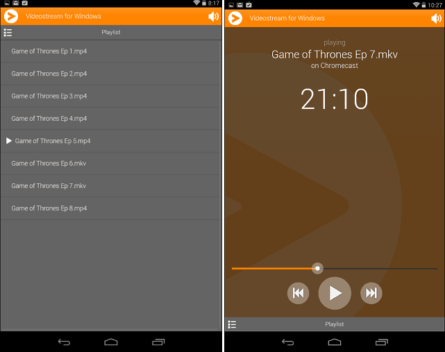 Videostream Android Remote