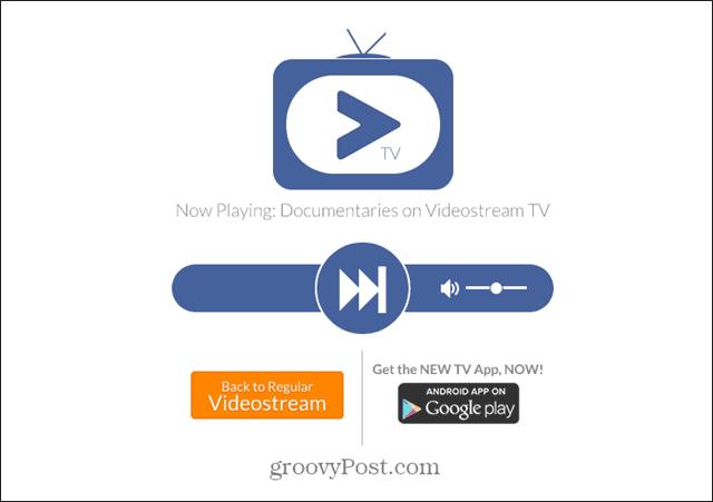 Videostream TV