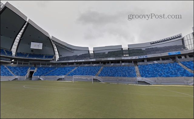 stadiums Google Street View