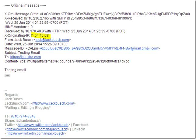 Domains Email