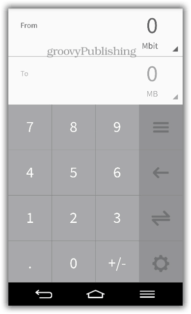 flib google play download review app android numbers converter minimalist animation modern UI category data