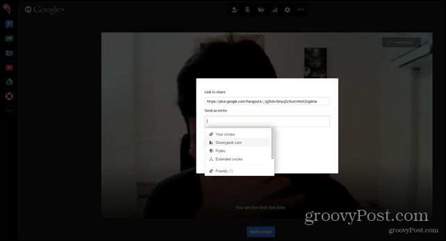 Google Hangouts Outlook