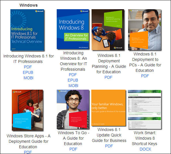Microsoft eBooks Collection