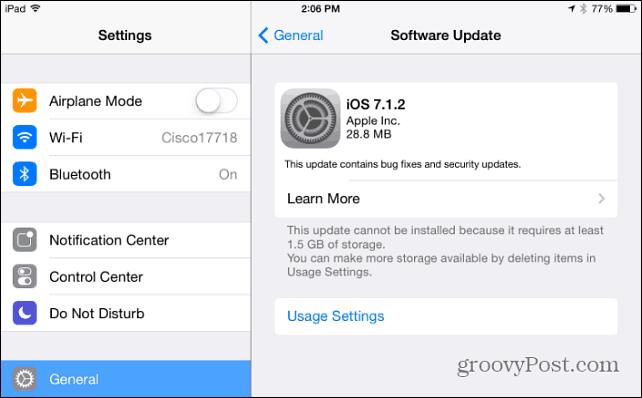 Software Update