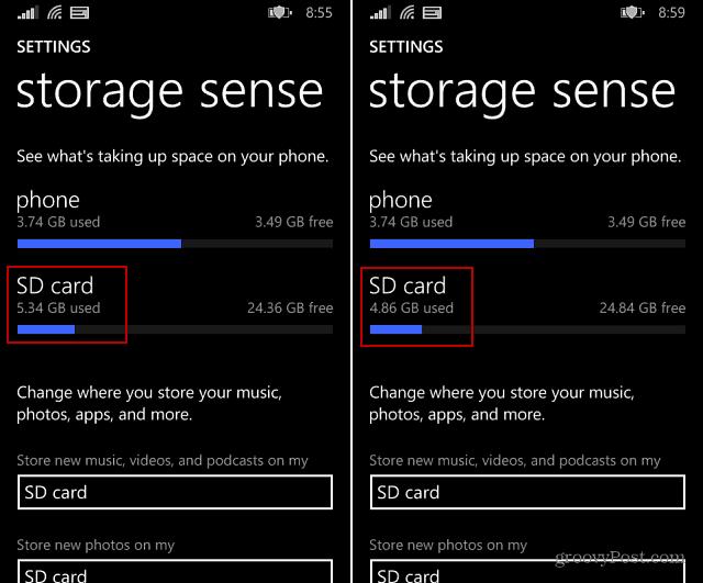 how to delete all photos windows 8