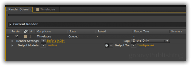 """From the render queue you can choose your desired export format, resolution, codec, and more. I have a personalized preset called """"Stefan's H.264"""" which is exactly what it sounds like - an MP4 file with H.264 encoding with customized bitrate and quality to my liking. If you don't want to go too in-depth about export quality, however, feel free to choose one of the pre-made export presets."""