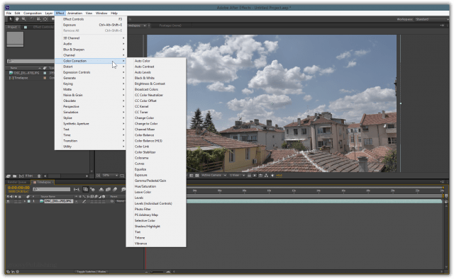 Here's where you can get creative. Since you have a big bunch of high-fidelity JPEG files to work with, you can apply an enormous amount of effects and corrections to improve dynamic range, color accuracy and more.