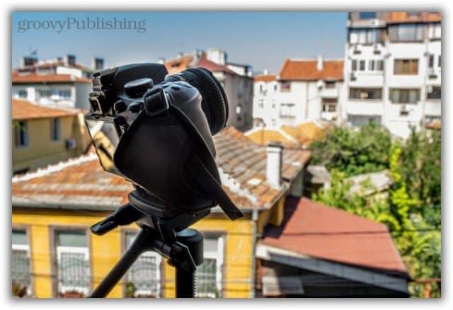 camera nikon canon tripod timelapse prepare shoot video