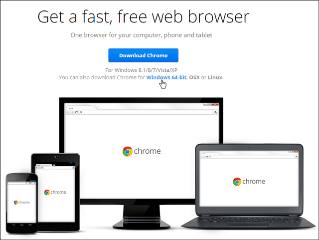 download google chrome for windows 8