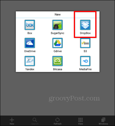 ES FIle Explorer add
