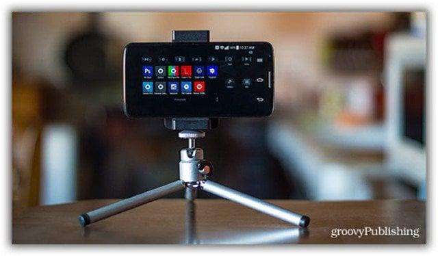 phone tripod ebay amazon buy setup bracket video record timelapse HD
