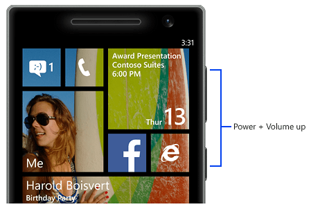Tips For Taking Screenshots On Windows Phone 8 1