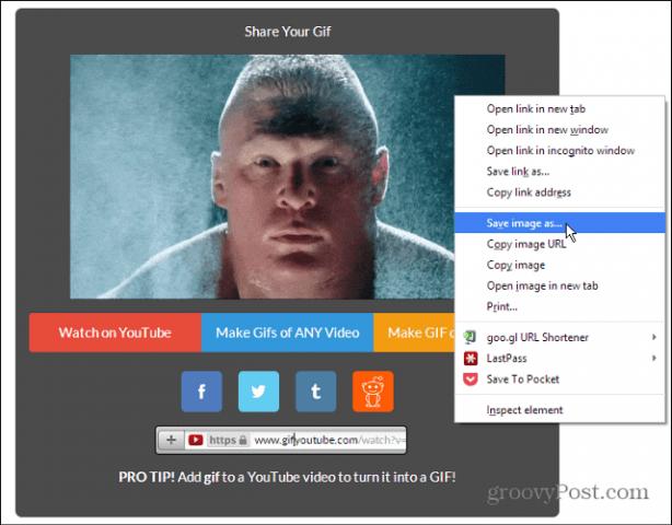 Share YouTube GIF