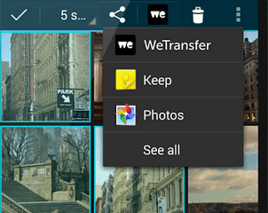 Wetransfer Android