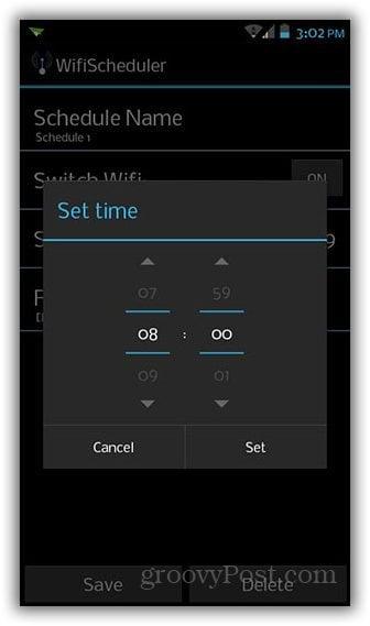 wifi scheduler_time