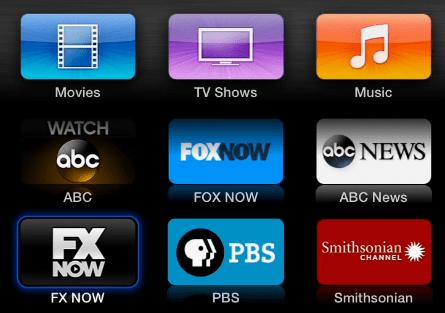FX Now Apple TV