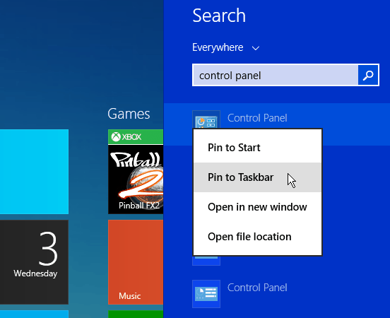 Windows 8.1 Search