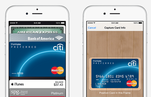 Apple Pay on iOS 8.1