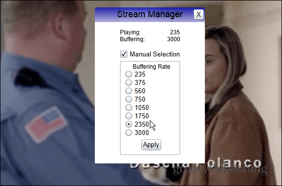 Netflix Buffering Settings