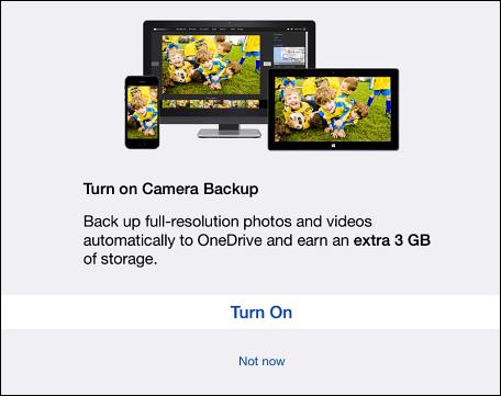 One Drive iOS