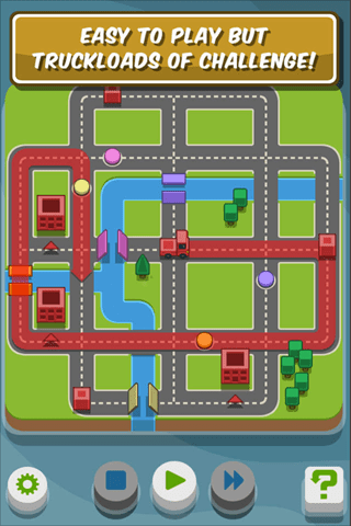 RGB Express - Mini Truck Puzzle Apple App of the Week - Training Day - Hazards
