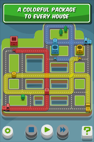 RGB Express - Mini Truck Puzzle Apple App of the Week - Training Day - Three Trucks